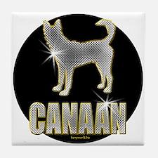 Bling Canaan Tile Coaster