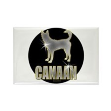 Bling Canaan Rectangle Magnet (100 pack)
