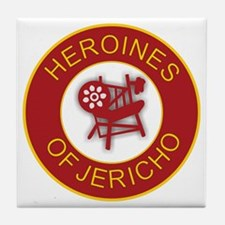 Heroines of Jericho Tile Coaster