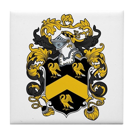 Meade Family Crest Tile Coaster