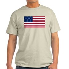 Red White and Blue Light T-Shirt