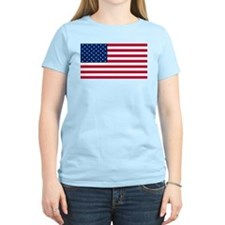 Red White and Blue Women's Light T-Shirt