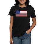Red White and Blue Women's Dark T-Shirt