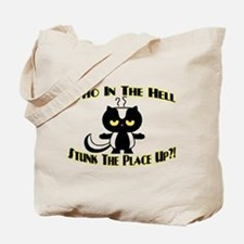 Who In The Hell Tote Bag