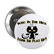 "Who In The Hell 2.25"" Button (10 pack)"