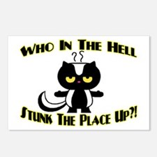 Who In The Hell Postcards (Package of 8)
