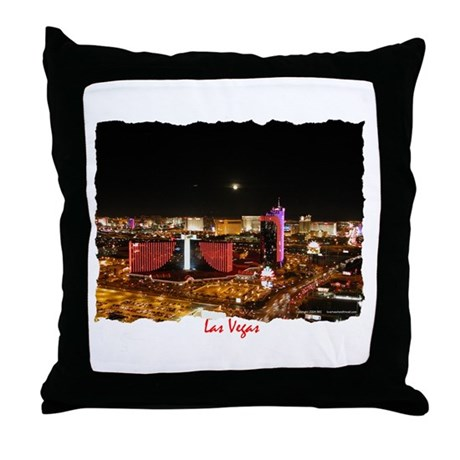 Las Vegas Nights - Throw Pillow