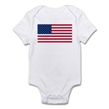 Red White and Blue Infant Bodysuit