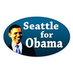 Seattle for Obama bumper sticker