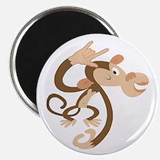 "I Love You Monkey 2.25"" Magnet (10 pack)"