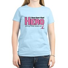 Never Knew A Hero Mother PINK T-Shirt