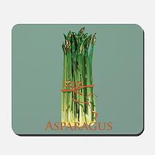 Green Asparagus Mousepad