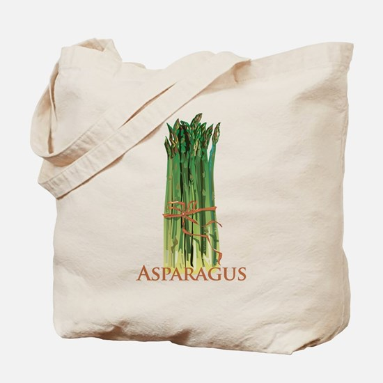 Green Asparagus Tote Bag