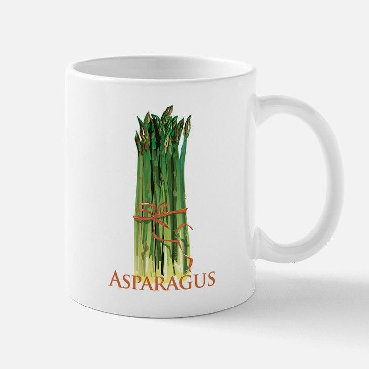 Green Asparagus Mug