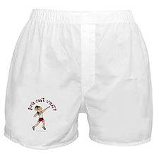 Light Red Shot Put Boxer Shorts