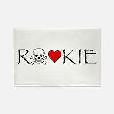 Roller Derby Rookie Rectangle Magnet