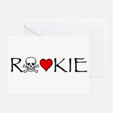 Roller Derby Rookie Greeting Card