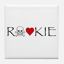 Roller Derby Rookie Tile Coaster