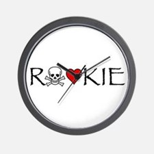 Roller Derby Rookie Wall Clock