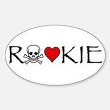 Roller Derby Rookie Oval Decal