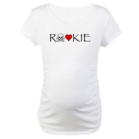 Roller Derby Rookie Maternity T-Shirt