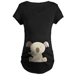 I Love You Koala Maternity Dark T-Shirt