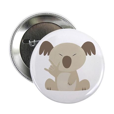 "I Love You Koala 2.25"" Button"