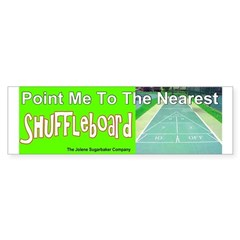 Point me To The Nearest Shuffle Bumper Bumper Sticker