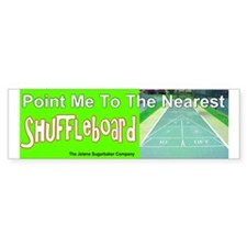 Point me To The Nearest Shuffle Bumper Bumper Sticker