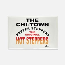 The Pepper Steppers Rectangle Magnet (100 pack)