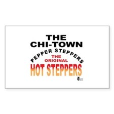 The Pepper Steppers Rectangle Sticker 50 pk)