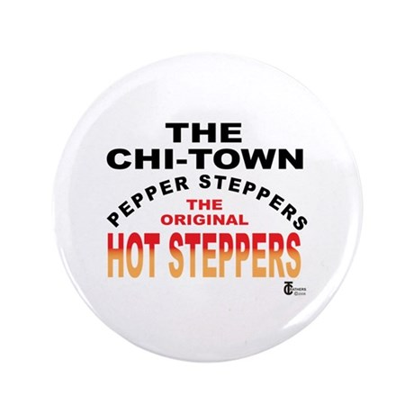 "The Pepper Steppers 3.5"" Button (100 pack)"