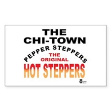 The Pepper Steppers Rectangle Sticker 10 pk)