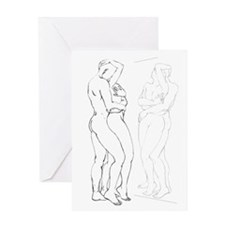 I love You Romantic Art Greeting Card