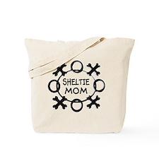 Hugs and Kisses Sheltie Tote Bag