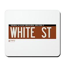 White Street in NY Mousepad