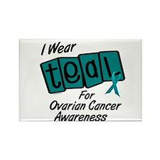I Wear Teal 8.2 (Ovarian Cancer Awareness) Rectang