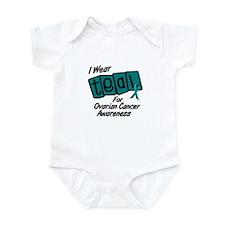 I Wear Teal 8.2 (Ovarian Cancer Awareness) Infant
