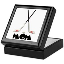 Hockey Mom Keepsake Box