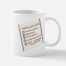 Little Mac's Death List Five Small Small Mug