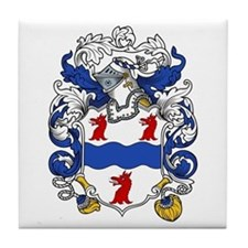 Miller Family Crest Tile Coaster