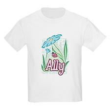 Ally Ladybug Flower T-Shirt