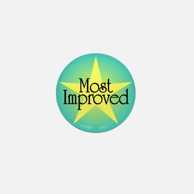 Most Improved Mini Button