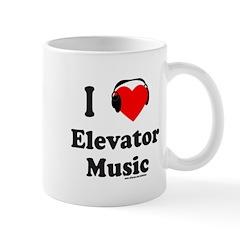 I HEART ELEVATOR MUSIC Mug