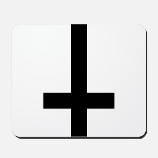 Inverted Cross Mousepad