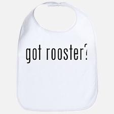 got rooster? Bib