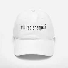 got red snapper? Baseball Baseball Cap