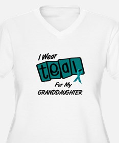 I Wear Teal For My Granddaughter 8.2 T-Shirt