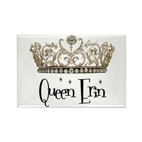 Queen Erin Rectangle Magnet