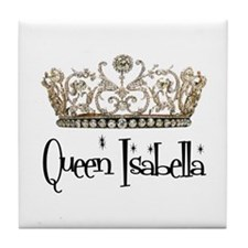 Queen Isabella Tile Coaster